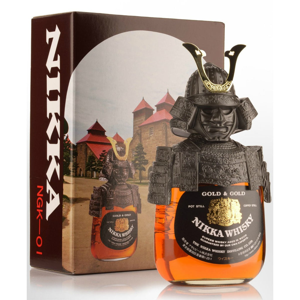 Nikka Samurai Gold & Gold Blended Whisky - De Wine Spot | Curated Whiskey, Small-Batch Wines and Sakes