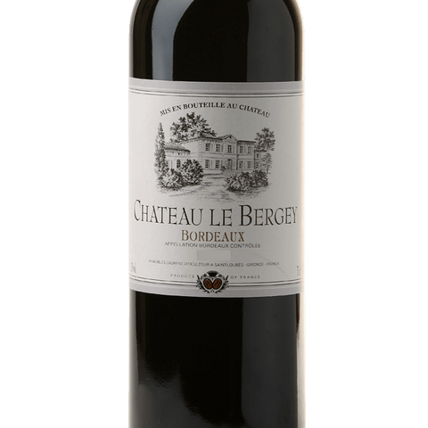 Chateau Le Bergey Bordeaux - De Wine Spot | Curated Whiskey, Small-Batch Wines and Sakes