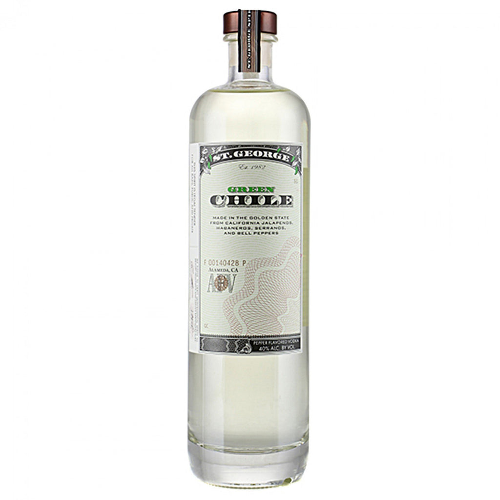 St. George Spirits Green Chile Vodka - De Wine Spot | Curated Whiskey, Small-Batch Wines and Sakes