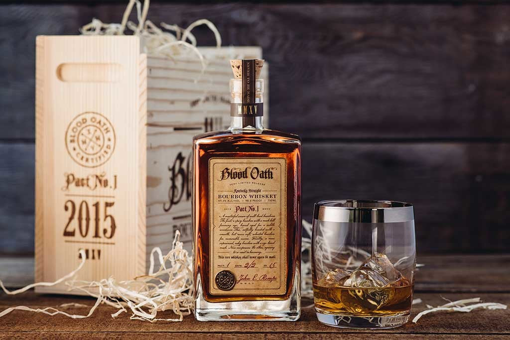 Blood Oath Kentucky Straight Bourbon Whiskey Pact 1 - De Wine Spot | Curated Whiskey, Small-Batch Wines and Sakes