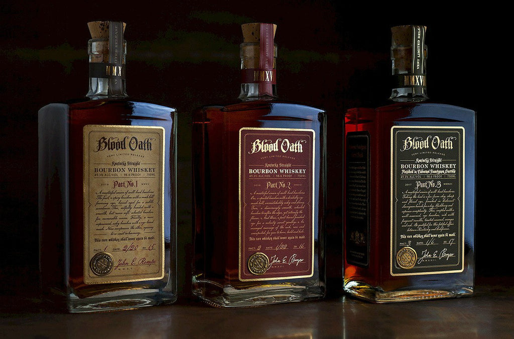Blood Oath Kentucky Straight Bourbon Whiskey Pact No.3 - De Wine Spot | Curated Whiskey, Small-Batch Wines and Sakes
