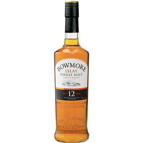 Bowmore 12 Years Islay Single Malt Scotch Whisky - De Wine Spot | Curated Whiskey, Small-Batch Wines and Sakes