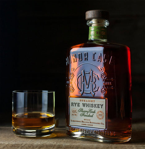Minor Case Straight Rye Whiskey Sherry Cask Finish - De Wine Spot | Curated Whiskey, Small-Batch Wines and Sakes