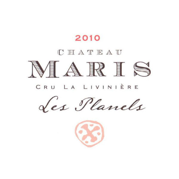 Chateau Maris Minervois Les Planels La Liviniere Syrah | De Wine Spot - Curated Whiskey, Small-Batch Wines and Sakes