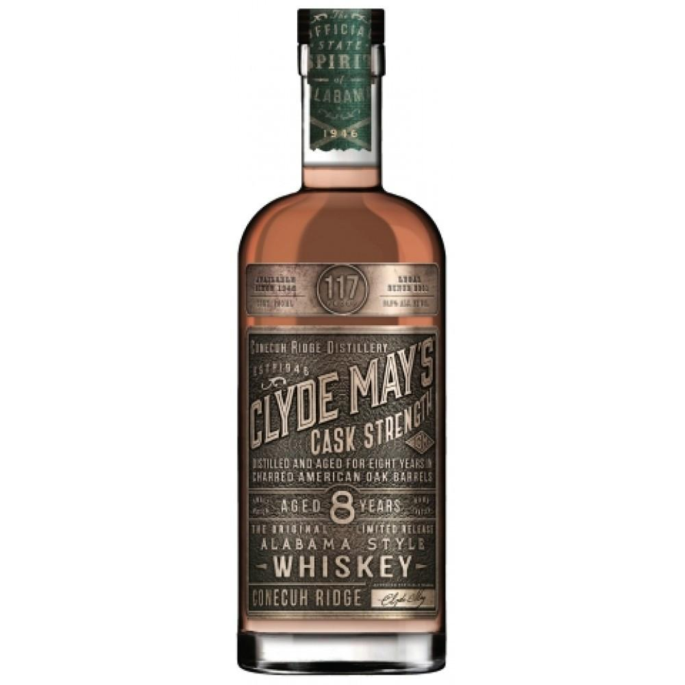 Clyde May's Cask Strength 8 Year Old Alabama-Style Whiskey - De Wine Spot | Curated Whiskey, Small-Batch Wines and Sakes