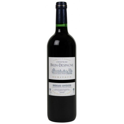 Chateau Brun-Despagne Heritage Bordeaux Superieur - De Wine Spot | Curated Whiskey, Small-Batch Wines and Sakes