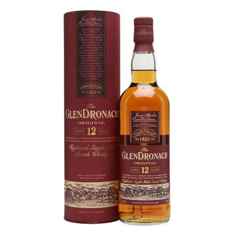 GlenDronach Original 12 Years Highland Single Malt Scotch Whisky