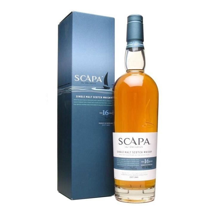 Scapa 16 Year Old Scotch Whisky - De Wine Spot | Curated Whiskey, Small-Batch Wines and Sakes