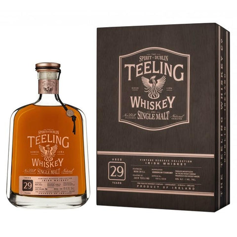 Teeling 29 Year Old Single Malt Irish Whiskey