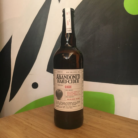 Abandoned Classic Hard Cider - De Wine Spot | Curated Whiskey, Small-Batch Wines and Sakes