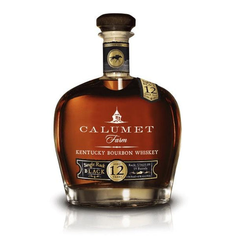 Calumet Farm 12 Year Old Single Rack Black Kentucky Bourbon - De Wine Spot | Curated Whiskey, Small-Batch Wines and Sakes