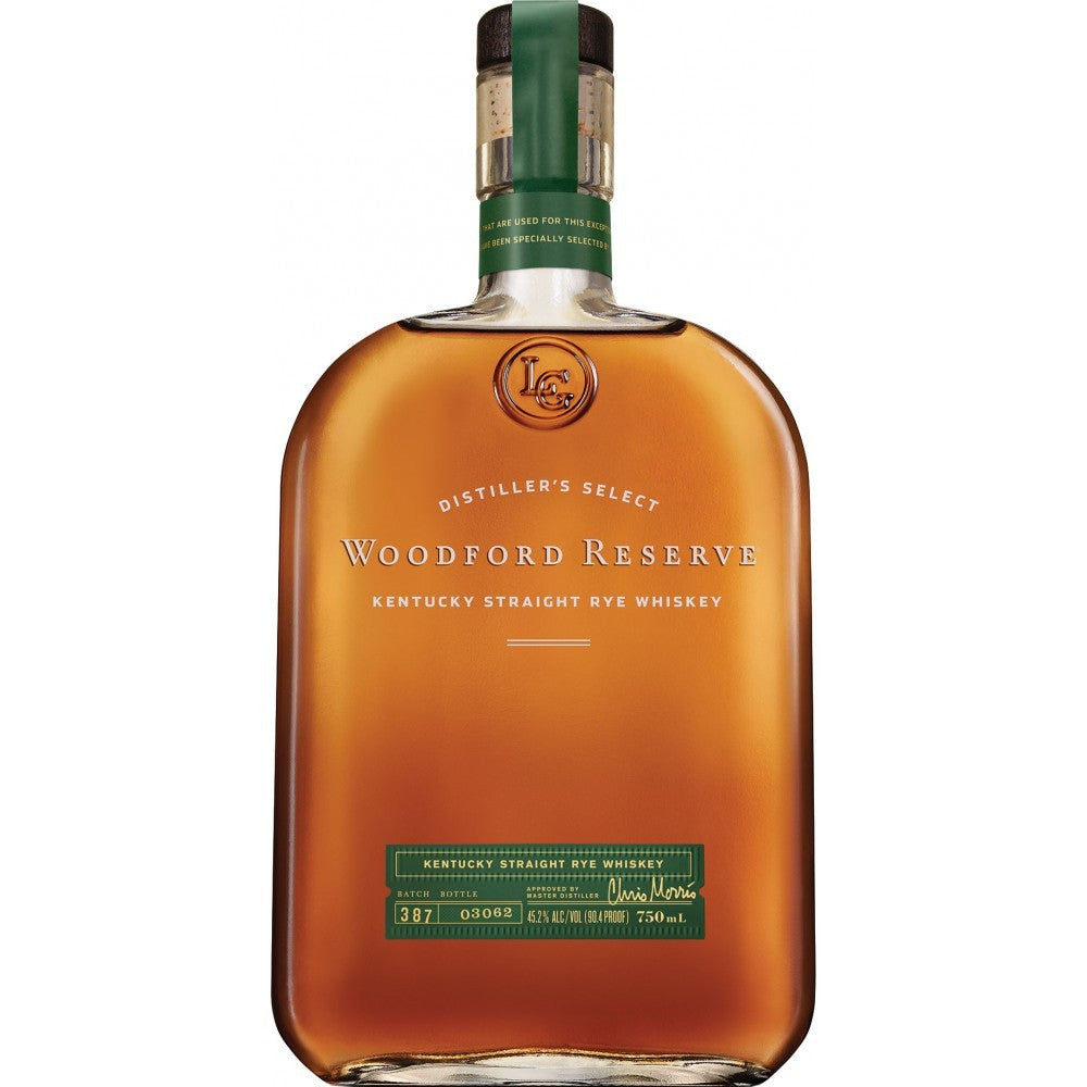 Woodford Reserve Kentucky Straight Rye Whiskey - De Wine Spot | Curated Whiskey, Small-Batch Wines and Sakes
