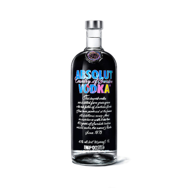 Absolut Vodka Andy Warhol Limited Edition - De Wine Spot | Curated Whiskey, Small-Batch Wines and Sakes