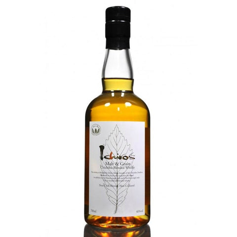 Chichibu Ichiro's Malt & Grain Blended Whisky - De Wine Spot | Curated Whiskey, Small-Batch Wines and Sakes