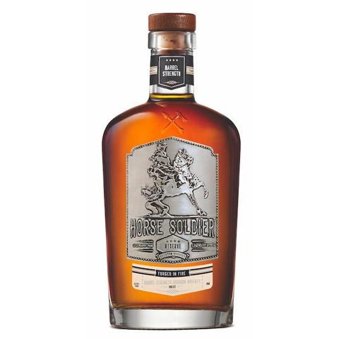 Horse Soldier Signature Barrel Strength Bourbon Whiskey