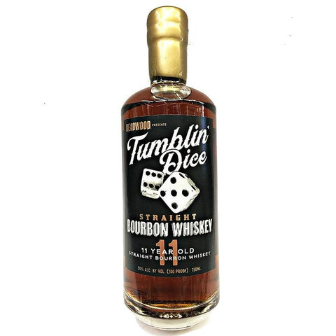 "Deadwood ""Tumblin' Dice"" 11 Year Old Straight Bourbon Whiskey - De Wine Spot 