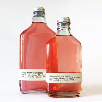 Kings County Distillery Strawberry Ginger Moonshine | De Wine Spot - Curated Whiskey, Small-Batch Wines and Sakes