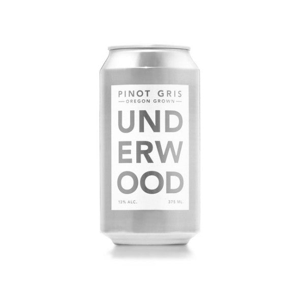 Underwood Cellars Pinot Gris Can | De Wine Spot - Curated Whiskey, Small-Batch Wines and Sakes