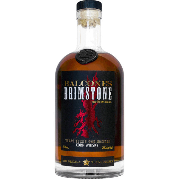 Balcones Distilling Brimstone Smoked Whisky - De Wine Spot | Curated Whiskey, Small-Batch Wines and Sakes