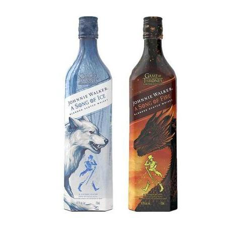 Johnnie Walker A Song of Ice and Fire Set - De Wine Spot | Curated Whiskey, Small-Batch Wines and Sakes