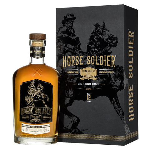 Horse Soldier Commander's Select 12 Year Old Wheated Bourbon Whiskey - De Wine Spot | Curated Whiskey, Small-Batch Wines and Sakes