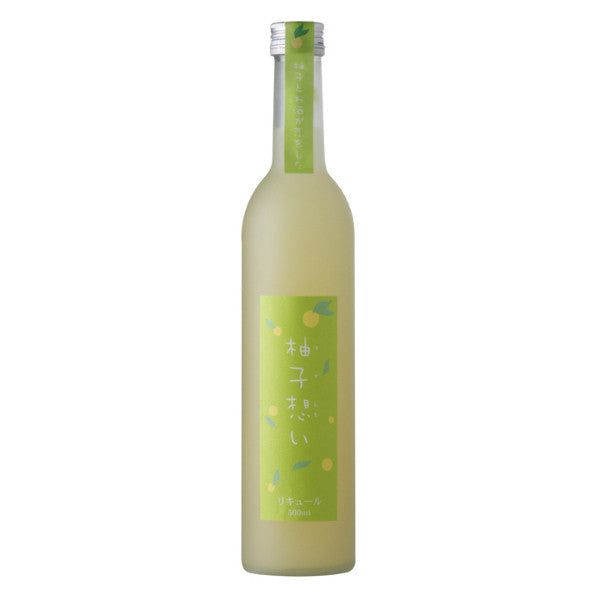 Yuzu Omoi Sake - De Wine Spot | Curated Whiskey, Small-Batch Wines and Sakes