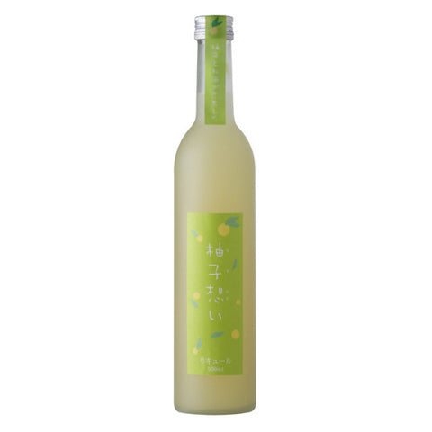 Yuzu Omoi Sake | De Wine Spot - Curated Whiskey, Small-Batch Wines and Sakes