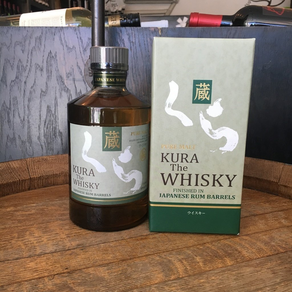 Kura Pure Malt Japanese Whisky - De Wine Spot | Curated Whiskey, Small-Batch Wines and Sakes