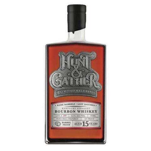 Hunt & Gather 15 Year Old Kentucky Straight Bourbon Whiskey