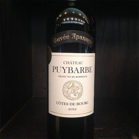 Chateau Puybarbe Cotes de Bourg - De Wine Spot | Curated Whiskey, Small-Batch Wines and Sakes