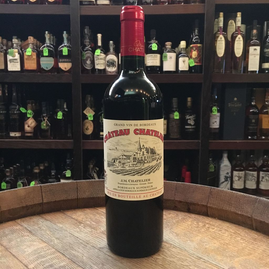 Chateau Chatelier Bordeaux Superieur Rouge - De Wine Spot | Curated Whiskey, Small-Batch Wines and Sakes