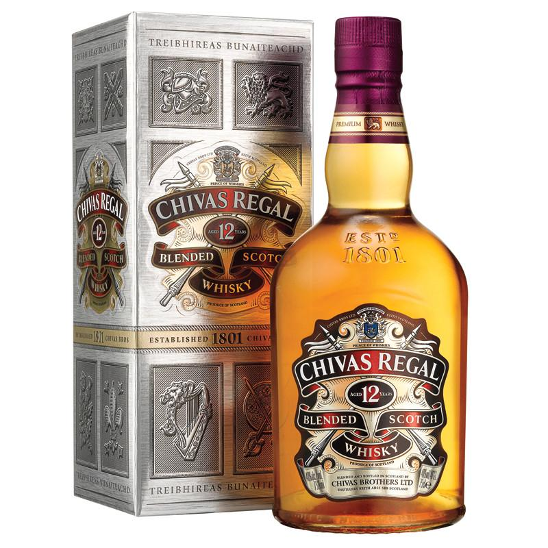 Chivas Regal 12 Year Old Scotch Whisky - De Wine Spot | Curated Whiskey, Small-Batch Wines and Sakes