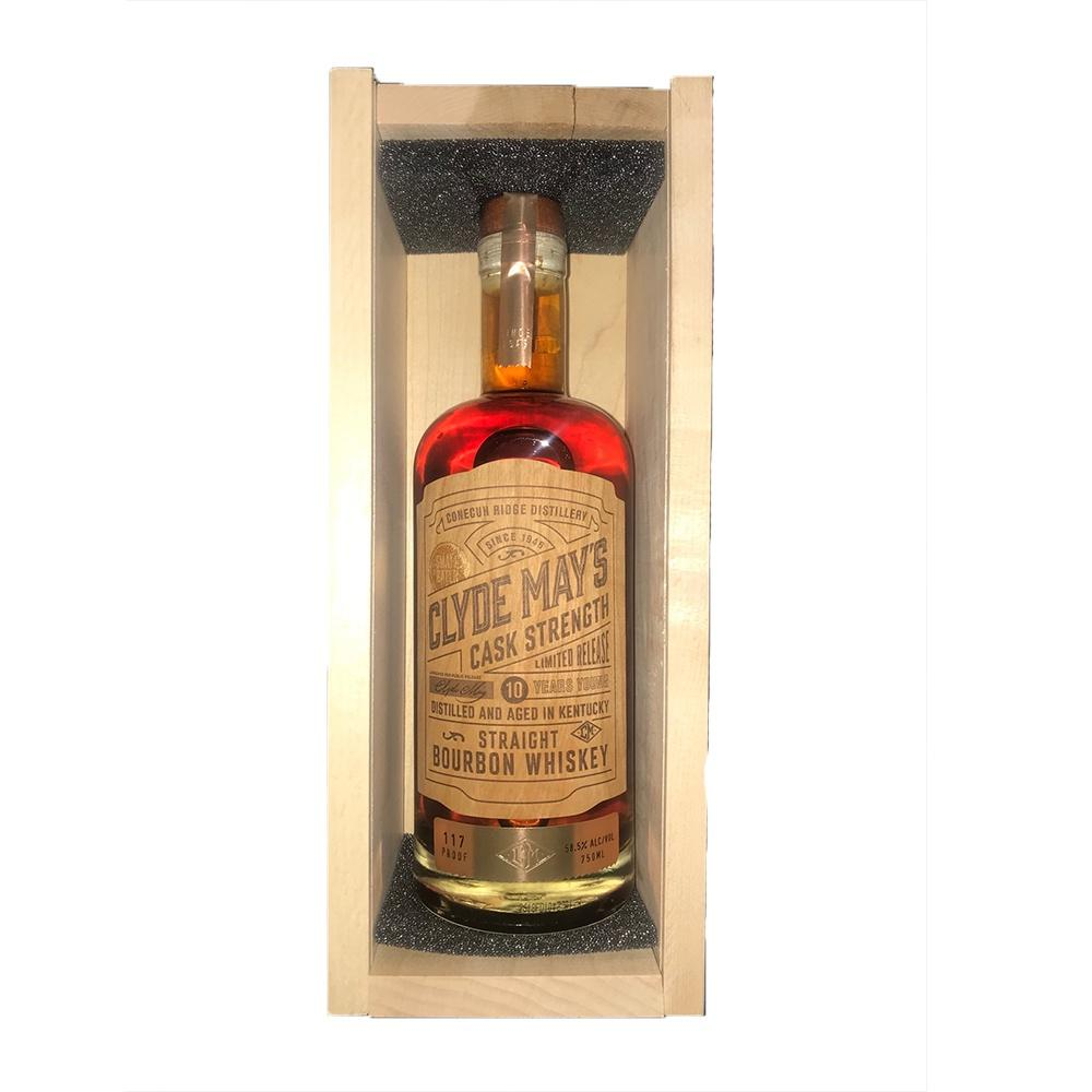 Clyde May's 10 Year Old Cask Strength Aged in Kentucky Whiskey Limited Release