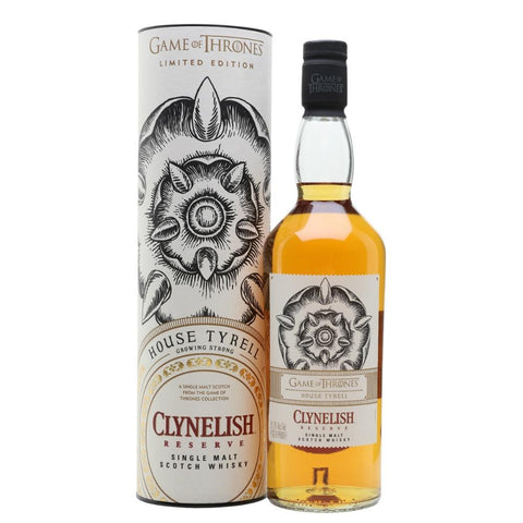 "Game of Thrones ""House Tyrell"" Clynelish Reserve Highland Single Malt Scotch Whisky - De Wine Spot 