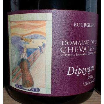 Domaine de la Chevalerie Diptyque Bourgueil Cabernet Franc | De Wine Spot - Curated Whiskey, Small-Batch Wines and Sakes