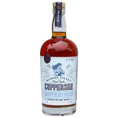 Coppersea Distillery Hudson Valley Straight Rye Malt Whiskey - De Wine Spot | Curated Whiskey, Small-Batch Wines and Sakes