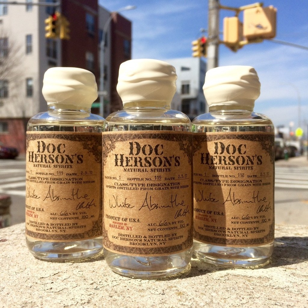 Doc Herson's Natural Spirits White Absinthe | De Wine Spot - Curated Whiskey, Small-Batch Wines and Sakes