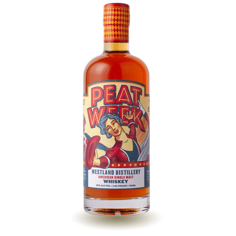 Westland 5th Annual Peat Week American Single Malt Whiskey
