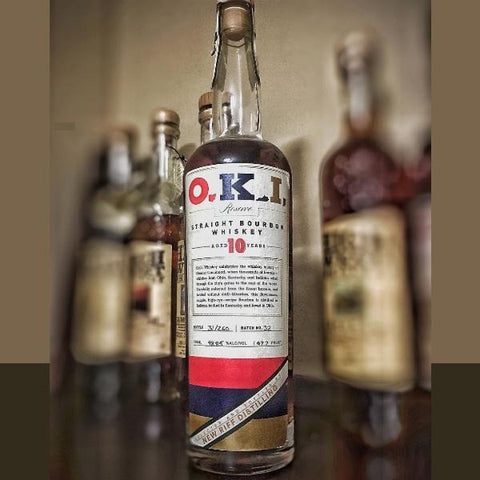 O.K.I. 10 Year Old Straight Bourbon Whiskey