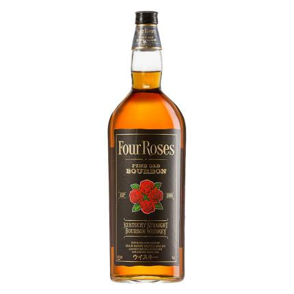 Four Roses Black Label Fine Old Kentucky Straight Bourbon Whiskey | De Wine Spot - Curated Whiskey, Small-Batch Wines and Sakes