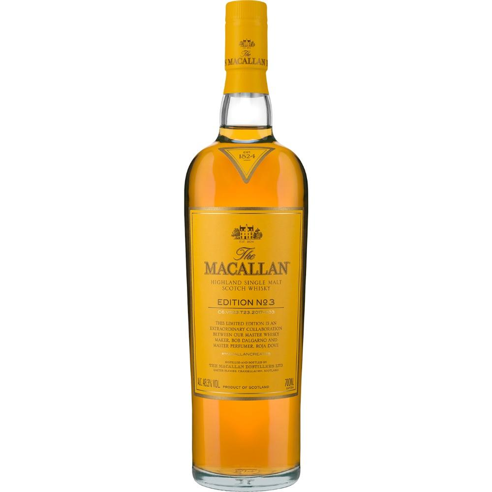 Macallan Edition No. 3 Single Malt Scotch Whisky - De Wine Spot | Curated Whiskey, Small-Batch Wines and Sakes