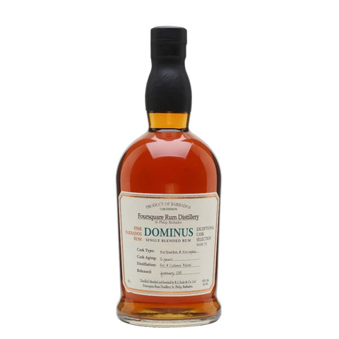 Foursquare Distillery Dominus Single Blended Rum - De Wine Spot | Curated Whiskey, Small-Batch Wines and Sakes