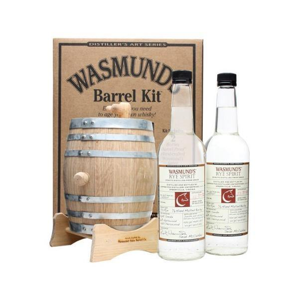 Wasmund's Barrel Kit - De Wine Spot | DWS - Drams/Whiskey, Wines, Sake