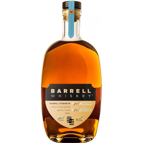 Barrell Whiskey Batch # 1 Barrel Strength - De Wine Spot | Curated Whiskey, Small-Batch Wines and Sakes