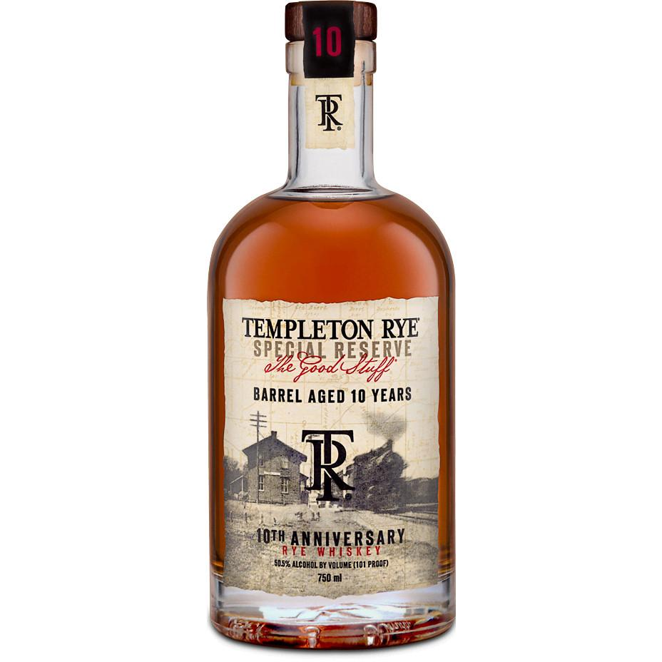 Templeton 10 Years Anniversary Rye Whiskey | De Wine Spot - Curated Whiskey, Small-Batch Wines and Sakes