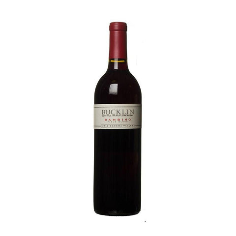 Bucklin Sonoma Valley Zinfandel Bambino Old Hill Ranch - De Wine Spot | Curated Whiskey, Small-Batch Wines and Sakes