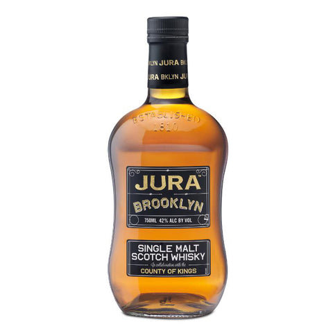 Isle of Jura Brooklyn Single Malt Scotch Whisky - De Wine Spot | Curated Whiskey, Small-Batch Wines and Sakes