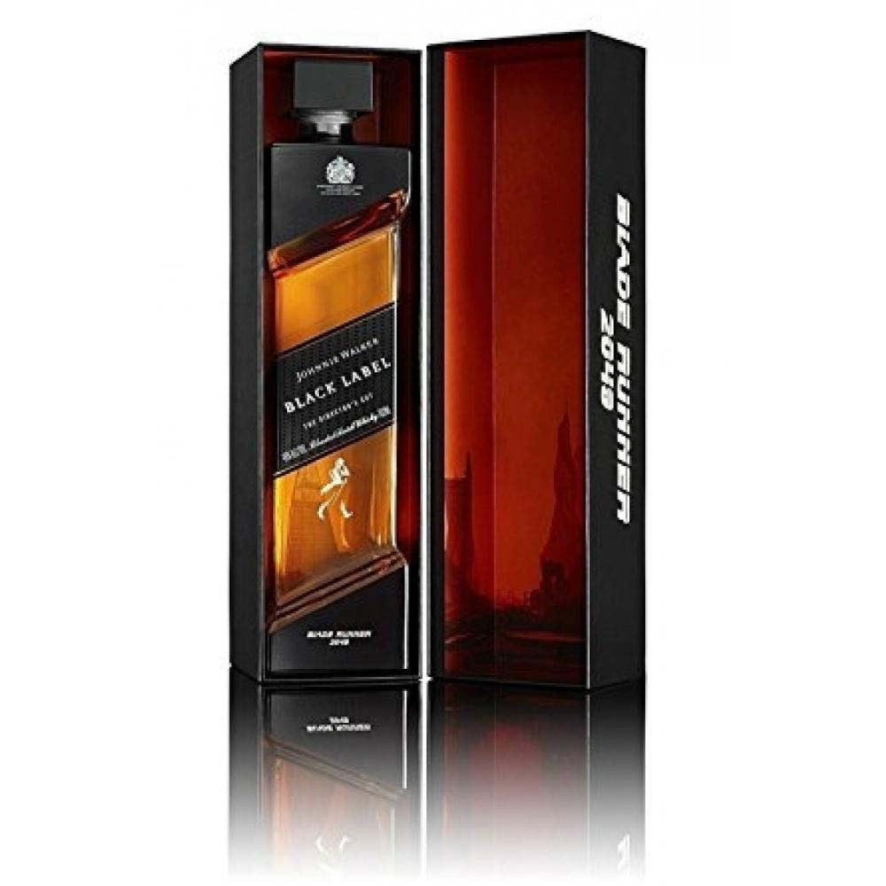 Johnnie Walker The Director's Cut Blade Runner 2049 Edition Black Label Blended Scotch Whisky | De Wine Spot - Curated Whiskey, Small-Batch Wines and Sakes