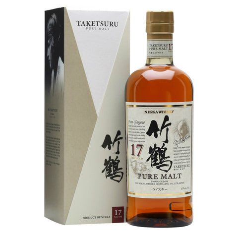 Nikka Taketsuru 17 Years Pure Malt Japanese Whisky - De Wine Spot | Curated Whiskey, Small-Batch Wines and Sakes