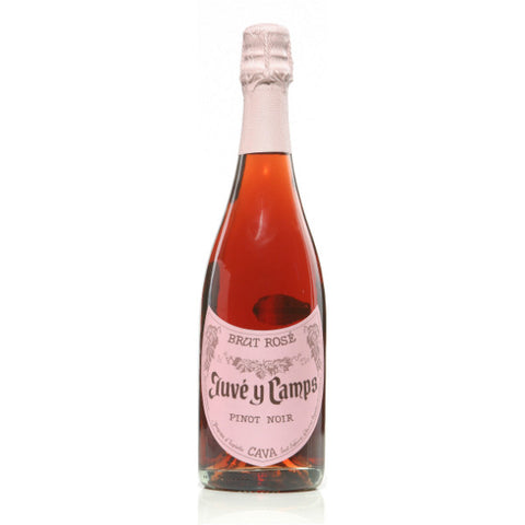 Juve y Camps Brut Rose | De Wine Spot - Curated Whiskey, Small-Batch Wines and Sakes